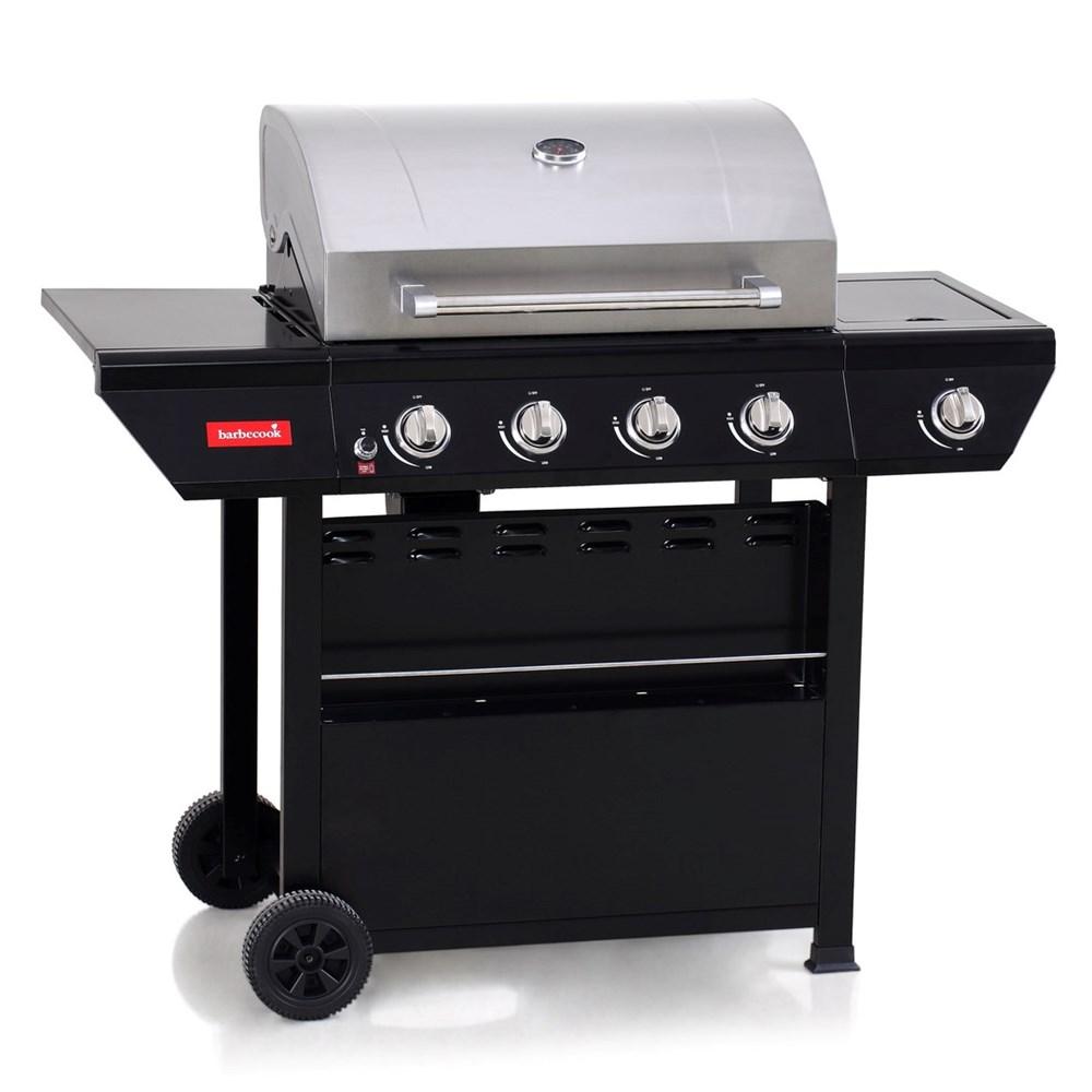 Barbecook cebu 4 1 gasbarbecue zwart - Plancha pas cher gaz ...