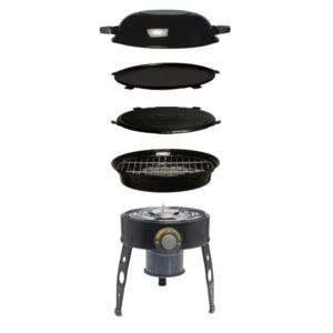 CADAC Safari Chef HP Skottelbraai voorbeeld