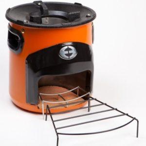 COOX Stove Hout Kooktoestel - Oranje 3