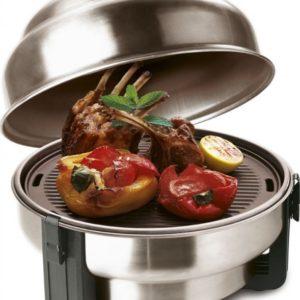 Safire Roaster Houtskoolbarbecue - Incl. Draagtas 1