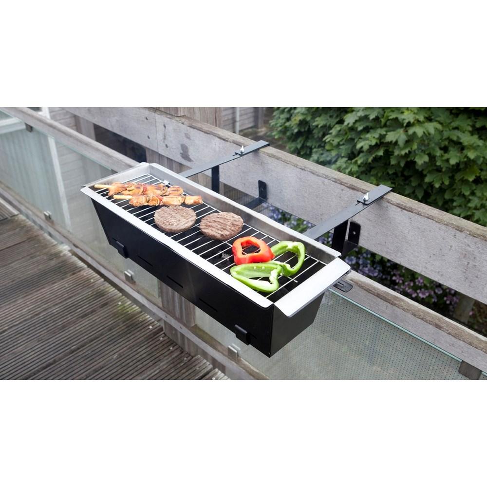 Balkon Barbecue Houtskool